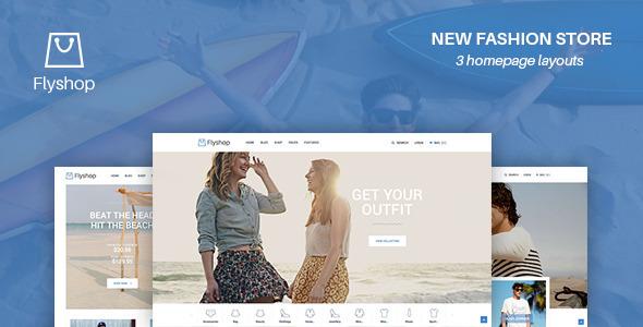 FlyShop WooCommerce Theme