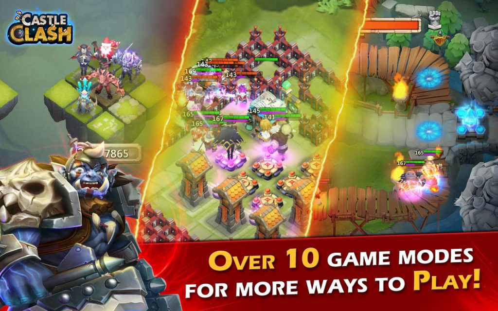 Castle Clash Gems Hack Free Online