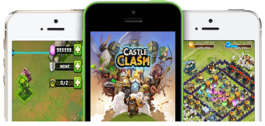 Castle Clash Hack Cheats Online APK Download for Android and IOS