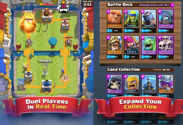 Clash Royale APK cards