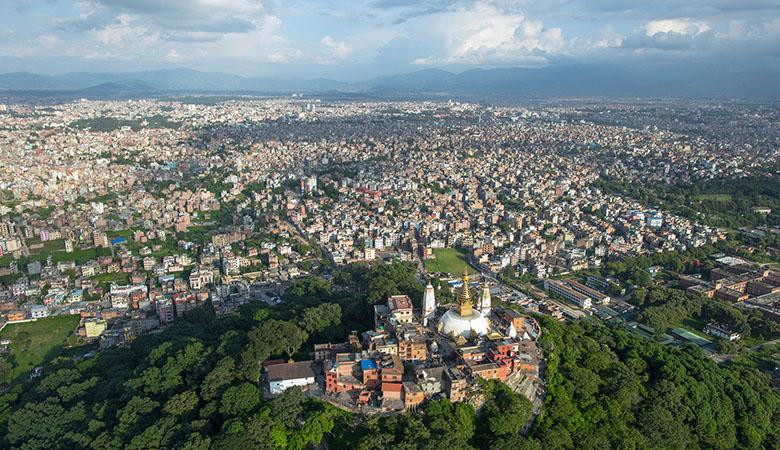 The Kathmandu valley
