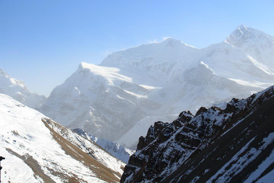 hiking in hills nepal