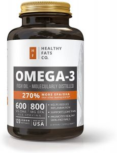 BodyVega Nutrition Omega 3 Fish Oil Triple Strength