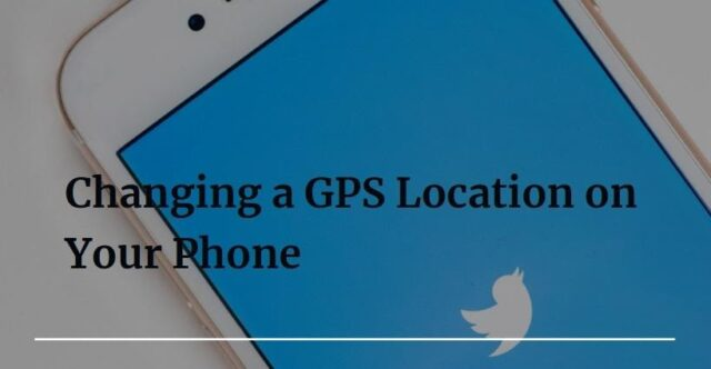 Changing a GPS Location