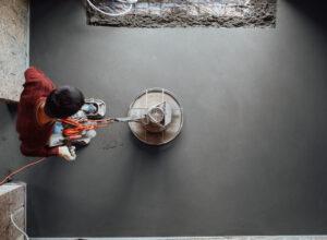 Concrete Veneer Floor